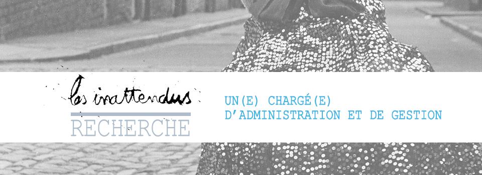 OFFRE D'EMPLOI – Chargé(e) d'administration et de gestion