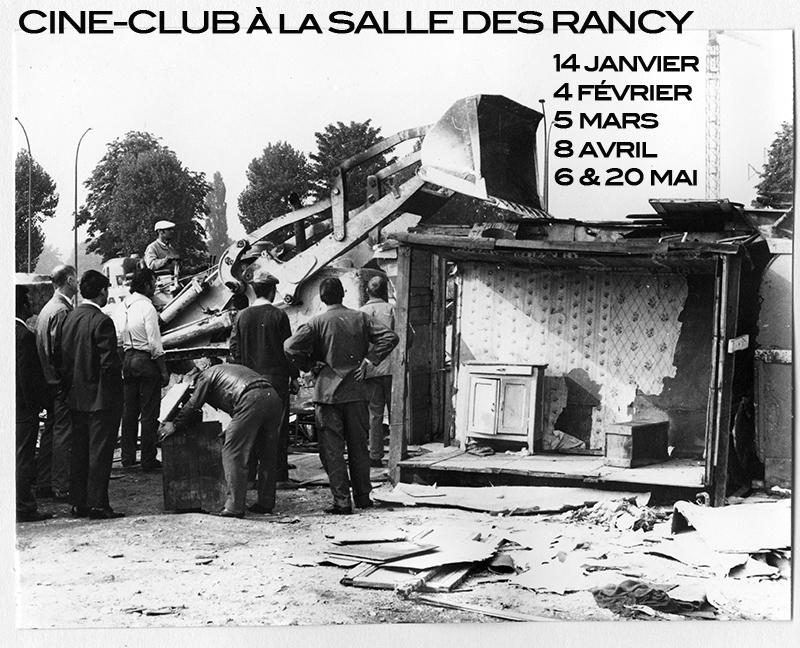 CINE-CLUB A LA SALLE DES RANCY | Janvier-Mai 2015