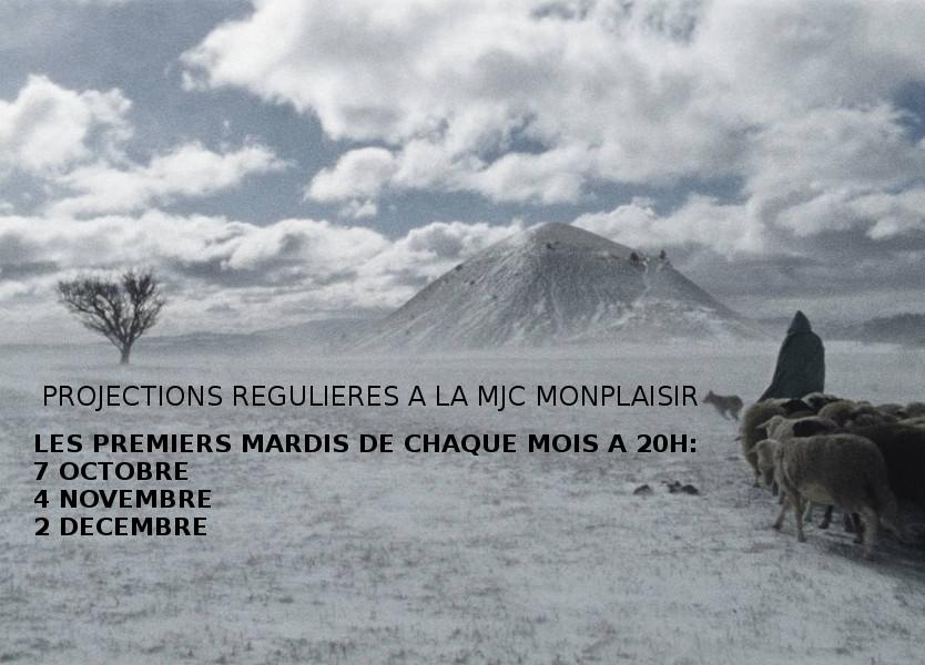 PROJECTIONS REGULIERES A LA MJC MONPLAISIR  Octobre-Décembre 2014